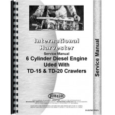 International Harvester TD24 Crawler Engine Service Manual