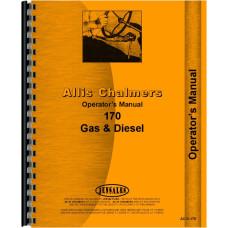 Allis Chalmers 170 Tractor Operators Manual