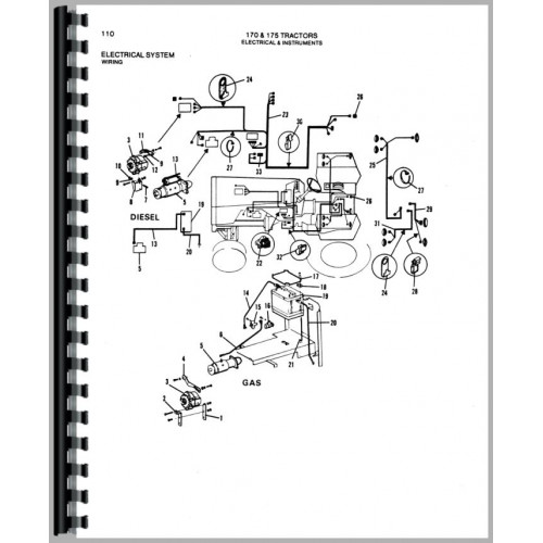 Allis Chalmers 170 Wiring Diagram : allis chalmers 170 tractor parts manual ~ A.2002-acura-tl-radio.info Haus und Dekorationen