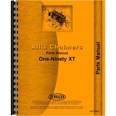Allis Chalmers 190 Tractor Parts Manual