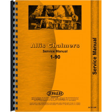 Allis Chalmers 190 Tractor Service Manual (1964-1972)