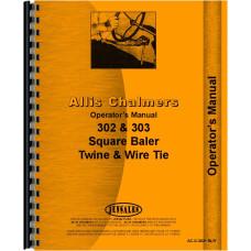 Allis Chalmers 302 Baler Operators Manual