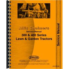 Allis Chalmers 410S Lawn & Garden Tractor Service Manual