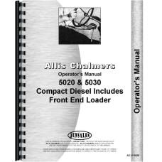 Allis Chalmers 5020 Tractor Operators Manual