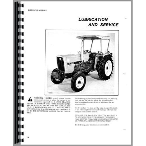 allis chalmers 5040 tractor operators manual w 8 12 speed rh jensales com 5040 Allis Chalmers Parts allis chalmers 5040 service manual pdf