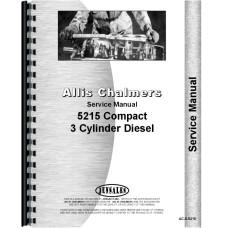 Deutz (Allis) 5215 Tractor Service Manual