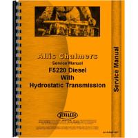 Deutz (Allis) 5220 Tractor Service Manual