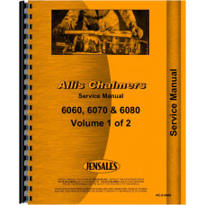 Allis Chalmers 6060 Tractor Service Manual