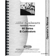 Allis Chalmers 66 Cultivator Operators Manual