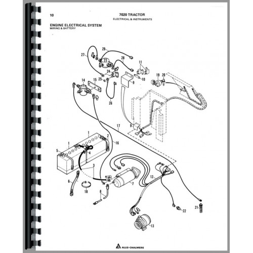 Allis Chalmers C Wiring Diagram Wiring Diagram Wd 45 Yesterday39s