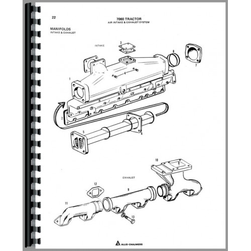 7060 Allis Chalmers Wiring Diagrams Allis Chalmers Ignition Switch
