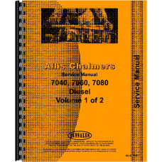 Allis Chalmers 7080 Tractor Service Manual