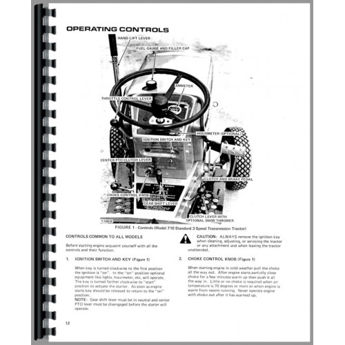 716h Allis Chalmers Tractor Part Diagram