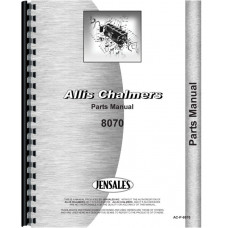 Allis Chalmers 8070 Tractor Parts Manual