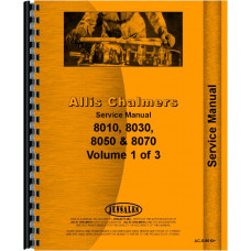 Allis Chalmers 8070 Tractor Service Manual