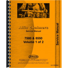 Allis Chalmers 8550 Tractor Service Manual