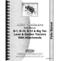 Allis Chalmers B-10 Lawn & Garden Tractor Parts Manual