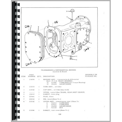 Allis chalmers D15 manual on