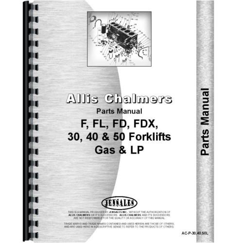 Allis Chalmers Forklift Parts Manual
