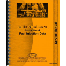 Allis Chalmers HD16 Crawler Fuel Injection Service Manual