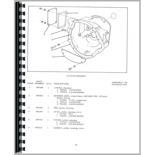 Allis chalmers g tractor parts manual fandeluxe Choice Image