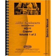 Allis Chalmers HD11F Crawler Service Manual (SN# 101-13366)