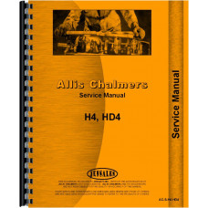 Allis Chalmers H4 Crawler Service Manual