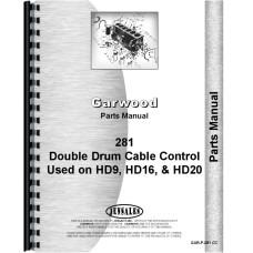 Allis Chalmers HD19 Crawler Garwood 281 Cable Control Parts Manual