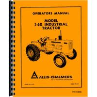 Allis Chalmers I-600 Industrial Tractor Operators Manual