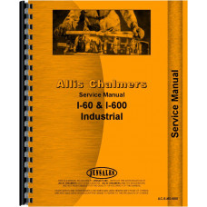 Allis Chalmers 610 Forklift Service Manual (Chassis)