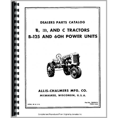AllisChalmers IB Tractor Manual_81238_2 500x500 allis chalmers b125 engine parts manual