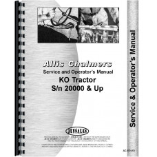 Allis Chalmers KO Crawler Service & Operators Manual