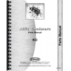 Allis Chalmers KO Crawler Parts Manual