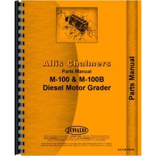 Allis Chalmers M-100 Motor Grader Parts Manual