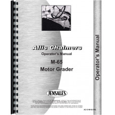 Allis Chalmers M-65 Motor Grader Operators Manual