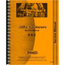 Allis Chalmers IB Tractor Service Manual (1939-1958)