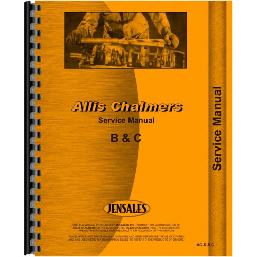 allis chalmers b tractor service manual 19381957