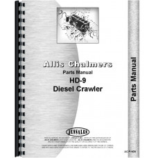 Allis Chalmers HD9F Crawler Parts Manual