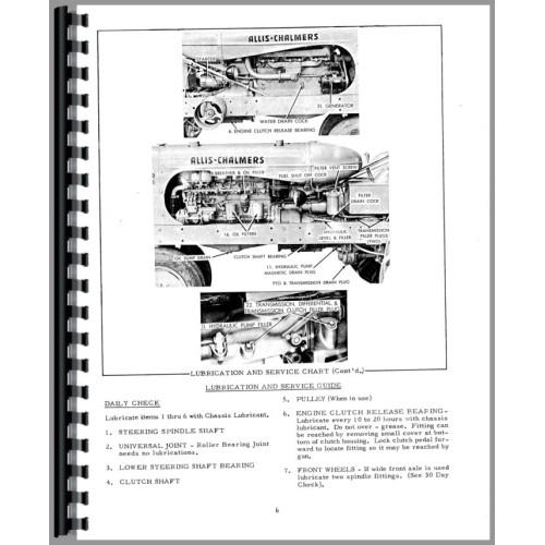 Allis chalmers wd45 Free Manual