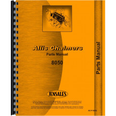 Allis Chalmers 8050 Tractor Parts Manual (Diesel)