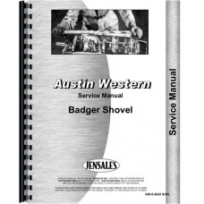 Austin Western 5801 Badger Shovel Service Manual