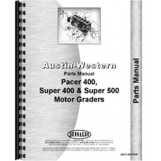 Austin Western Pacer 400 Grader Parts Manual