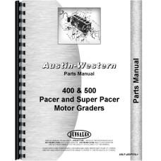 Image of Austin Western Grader Parts Manual (AW-P-400PCRL+)