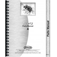 Avery A Tractor Parts Manual