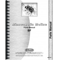 Minneapolis Moline BF Tractor Parts Manual (SN# R238) (MM)