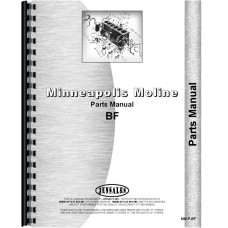 Avery BF Tractor Parts Manual