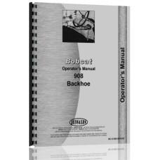 Bobcat 908 Backhoe Attachment Operators Manual