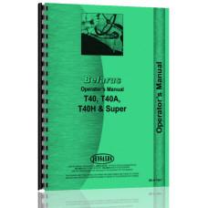 Belarus T40 Tractor Operators Manual
