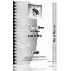 Image of John Blue  Tractor Parts Manual (G-1000 )