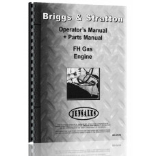 Briggs And Stratton FH Engine Operators & Parts Manual
